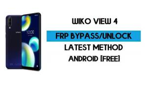 Wiko View 4 FRP Bypass Without PC - Unlock Google Gmail Android 10