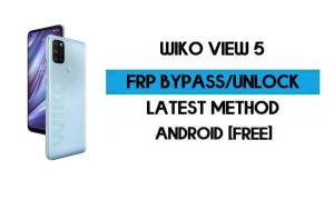 Wiko View 5 FRP Bypass Without PC - Unlock Google Gmail Android 10