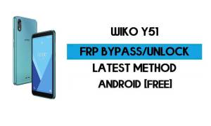 Wiko Y51 FRP Bypass Without PC - Unlock Google Gmail Android 10 Go