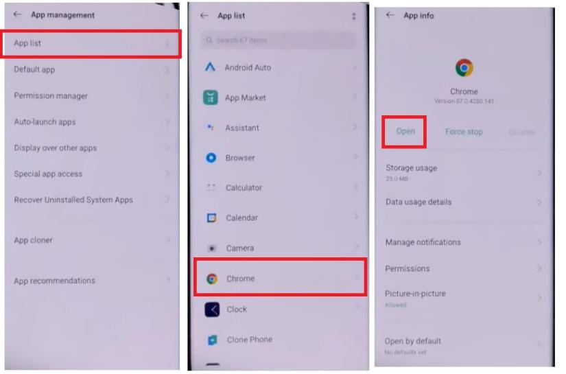 Open Chrome to Oppo Realme Android 11 FRP Bypass - Unlock Google (Fix FRP Code Not Working) Without PC