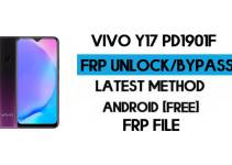 Vivo Y17 PD1901F FRP File (With DA) Unlock by SP Tool – Latest Free