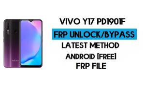 Vivo Y17 PD1901F FRP Bypass File (Remove with DA) SP tool Latest