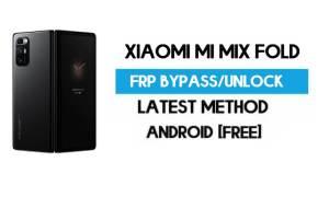 Xiaomi Mi Mix Fold MIUI 12.5 FRP Unlock/Google Account Bypass (latest)