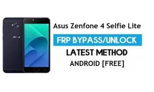Asus Zenfone 4 Selfie Lite ZB553KL FRP Bypass – Unlock gmail lock Free