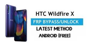 HTC Wildfire X FRP Bypass/Google Account Unlock (Android 9.0) [Without PC] Free Latest Method