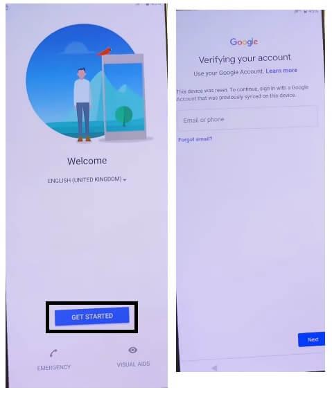 Sony Android 11 FRP Bypass Unlock Google Account Verification