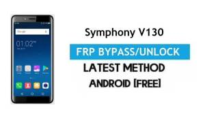 Symphony V130 FRP Bypass – Unlock Gmail Lock Android 7.0 Without PC