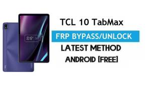 TCL 10 TabMax FRP Bypass Android 10 – Unlock Gmail Lock [Without PC]