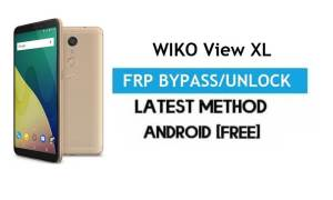 Wiko View XL FRP Bypass – Unlock Gmail Lock Android 7.1 Without PC