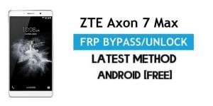 ZTE Axon 7 Max FRP Bypass Android 6.0.1 – Unlock Google Gmail Lock [Without PC]