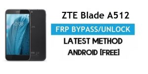 ZTE Blade A512 FRP Bypass Android 6.0.1 – Unlock Google Gmail Lock [Without PC]