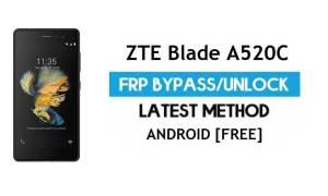 ZTE Blade V7 Lite FRP Bypass – Unlock Google Gmail Lock Android 7.0