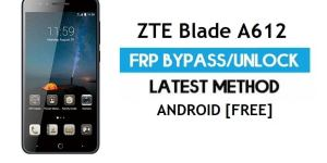 ZTE Blade A612 FRP Bypass Android 6.0.1 – Unlock Google Gmail Lock [Without PC]