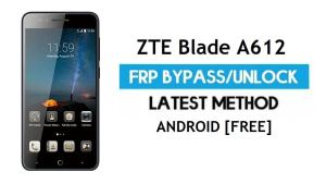 ZTE Blade A612 FRP Bypass – Unlock Google Gmail Lock Android 6.0