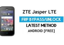 ZTE Jasper LTE FRP Bypass Android 6.0.1 – Unlock Google Gmail Lock [Without PC]