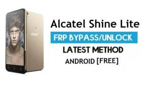Alcatel Shine Lite FRP Bypass Without PC – Unlock Gmail Lock Android 6