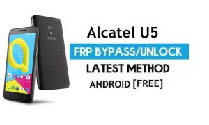 Alcatel U5 FRP Bypass Without PC – Unlock Google Gmail Android 6.0