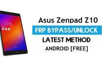Asus Zenpad Z10 ZT500KL FRP Bypass Android 7 – Unlock Google Gmail Lock [Without PC]