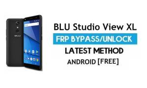 BLU Studio View XL FRP Bypass – Unlock Google Gmail lock Android 7.0