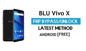 BLU Vivo X FRP Bypass Without PC – Unlock Gmail Lock Android 7.0