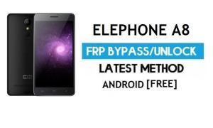 Elephone A8 FRP Bypass Without PC – Unlock Google Gmail Android 7.0