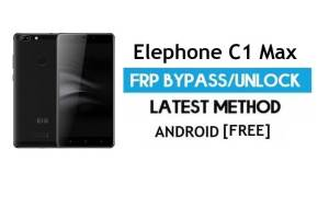 Elephone C1 Max FRP Bypass Without PC – Unlock gmail Android 7.0