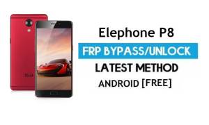 Elephone P8 FRP Bypass Without PC – Unlock Gmail Lock Android 7.0
