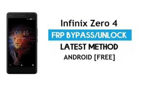 Infinix Zero 4 FRP Bypass – Unlock Gmail Lock Android 6.0 Without PC