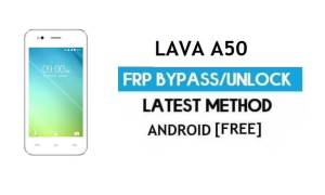 Lava A50 FRP Unlock Google Account Bypass | Android 6.0 (Without PC)