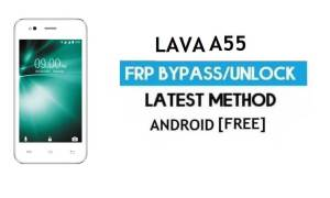 Lava A55 FRP Unlock Google Account Bypass - Android 6.0 (Without PC)