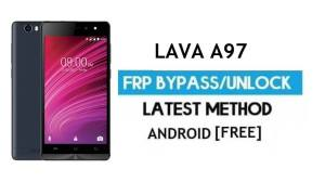 Lava A97 FRP Unlock Google Account Bypass | Android 6.0 (Without PC)