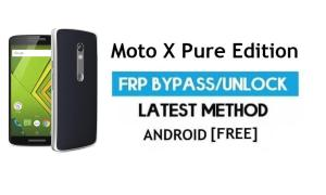 Moto X Pure Edition FRP Bypass – Unlock Google Gmail lock Android 7.0