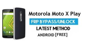 Motorola Moto X Play FRP Bypass Android 7.1 – Unlock Google gmail lock