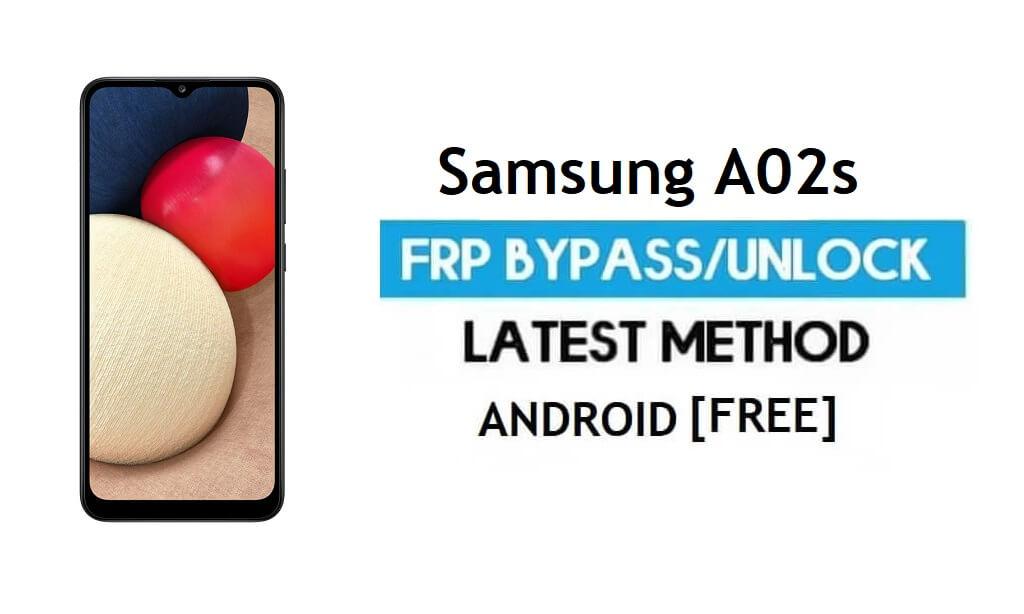 Samsung A02s SM-A025 FRP Bypass Android 11 (Unlock Google Gmail)