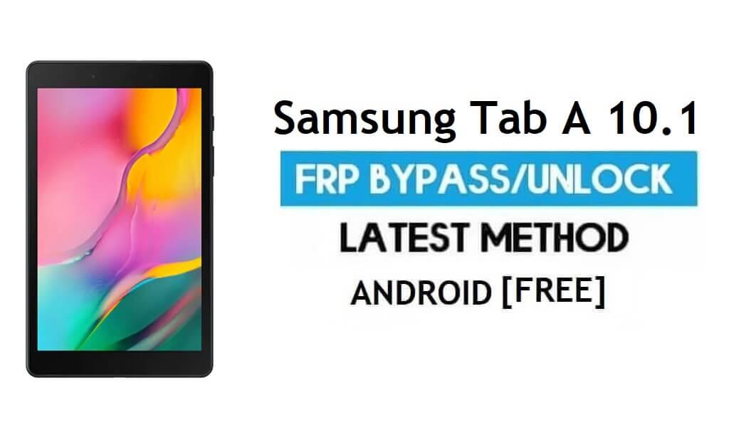 Unlock Samsung Tab A SM-T515 Android 11 FRP Google GMAIL lock