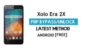 Xolo Era 2X FRP Bypass – Unlock Google Gmail lock Android 6.0 No PC