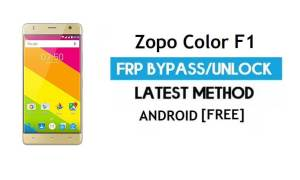 Zopo Color F1 FRP Bypass Without PC – Unlock Gmail Lock Android 6.0