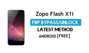 Zopo Flash X1i FRP Bypass Without PC – Unlock Gmail Lock Android 7.0