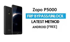 Zopo P5000 FRP Bypass Without PC – Unlock Gmail Lock Android 7.1