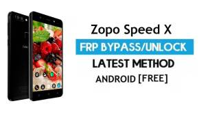 Zopo Speed X FRP Bypass Without PC – Unlock Gmail Lock Android 7.0
