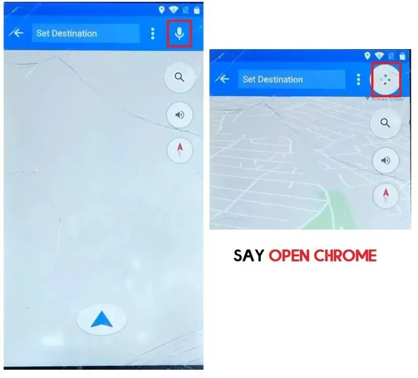 Say Open Chrome to Karbonn Bypass/Google unlock (Android 7.0) [Fix Location & Youtube Update]