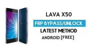 Lava X50 FRP Unlock Google Account Bypass | Android 6.0 (Without PC)