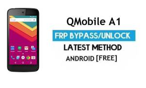 QMobile A1 FRP Unlock Google Account Bypass Android 6.0 Without PC