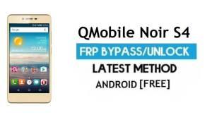 QMobile Noir S4 FRP Unlock Google Account Bypass Android 6.0 (No PC)