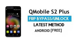 QMobile S2 Plus FRP Unlock Google Account Bypass Android 6.0 No PC
