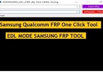 Samsung Qualcomm FRP One Click Tool Latest EDL Mode Tool