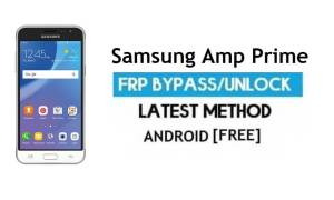 Samsung Amp Prime FRP Bypass Unlock Google Without PC Android 7.1