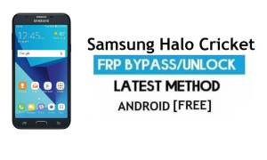 Samsung Halo Cricket SM-J727AZ FRP Bypass Unlock Google Android 7