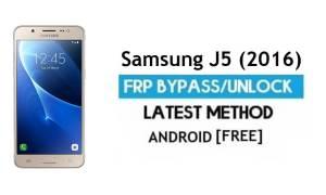 Samsung J5 (2016) SM-J510 FRP Bypass – Unlock Google [Android 7.1.1]