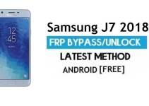 Samsung J7 2018 SM-J737U FRP Bypass 2021 Latest – Unlock Google Verification [Android 9.0]